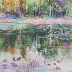 """Remembering the Pond"" 9x12 Pastel $200"