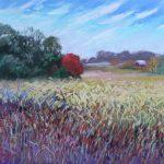 Kaye's Field Sharon Sunday Pastel 12x9 NFS