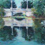 The Dentone Bridge Sharon Sunday Pastel 12x9 $200